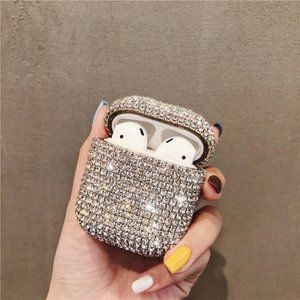 NEW Luxury 3D Diamond Airpods Pro case